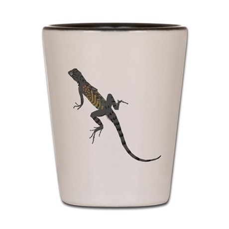 Lizard Shot Glass