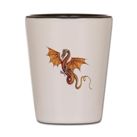 Fantasy Dragon Shot Glass
