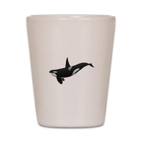 Orca Shot Glass