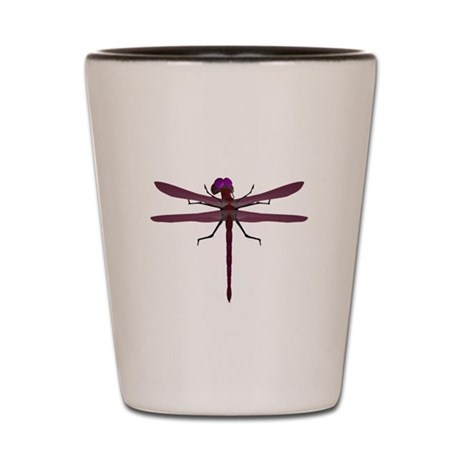 Dragonfly Shot Glass