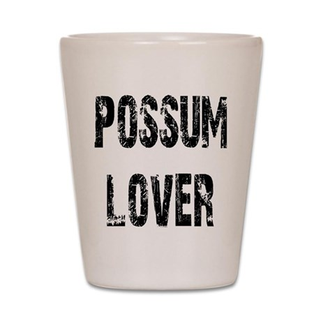 Possum Lover Shot Glass