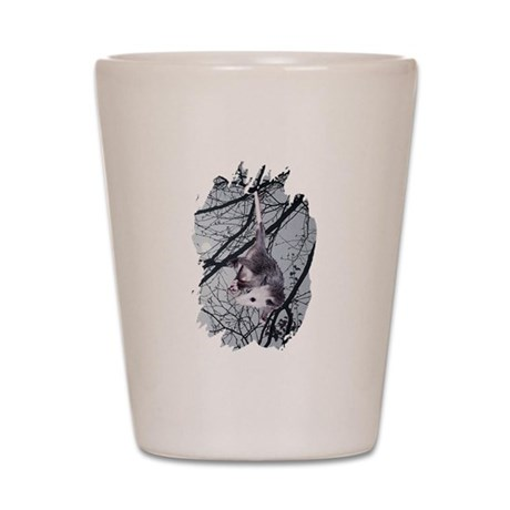 Moonlight Possum Shot Glass