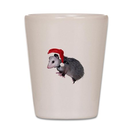 Santa Possum Shot Glass