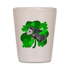 Lucky Irish Possum Shot Glass