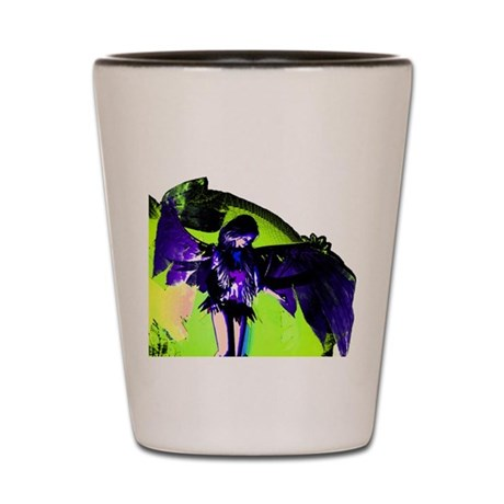 Angel Art Shot Glass