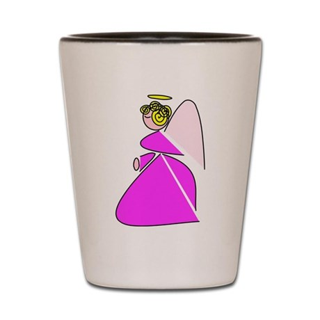 Pretty Angel Shot Glass