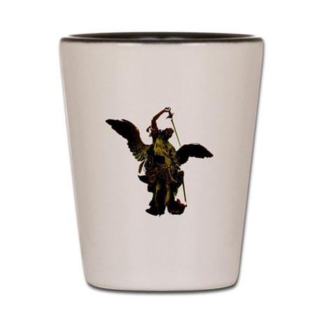 Powerful Angel - Gold Shot Glass