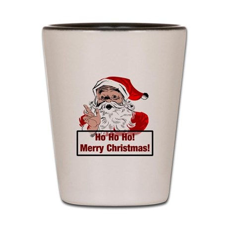 Santa Clause Shot Glass