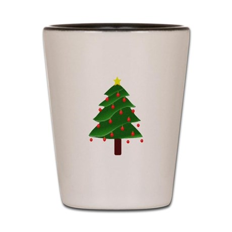Christmas Tree Shot Glass