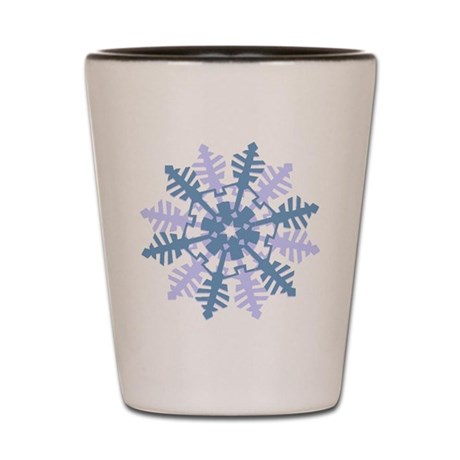 Snowflake Shot Glass