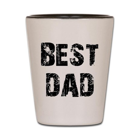 Father's Day Best Dad Shot Glass