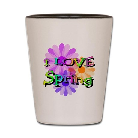 Love Spring Shot Glass