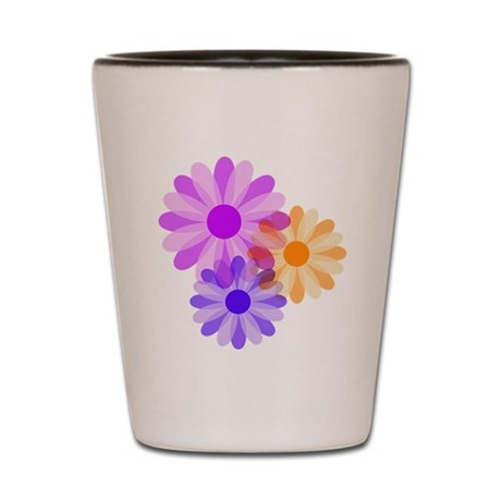 Flowers Shot Glass