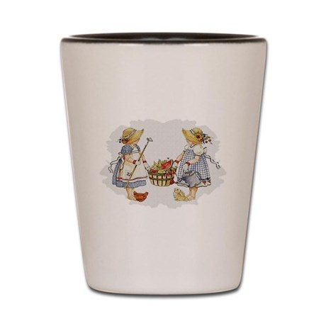 Girls Garden Shot Glass