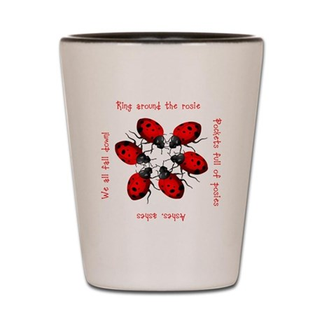 Ladybugs Playing Shot Glass