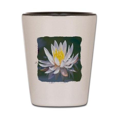 Lotus Blossom Shot Glass