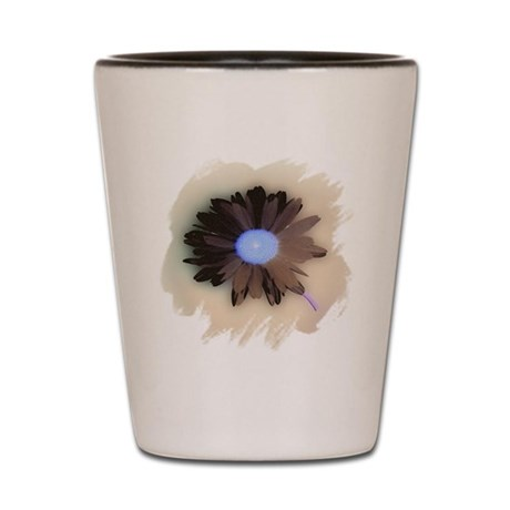 Country Daisy Shot Glass
