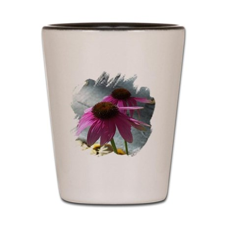 Windflower Shot Glass