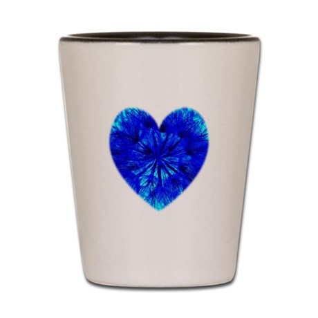 Heart of Seeds Shot Glass