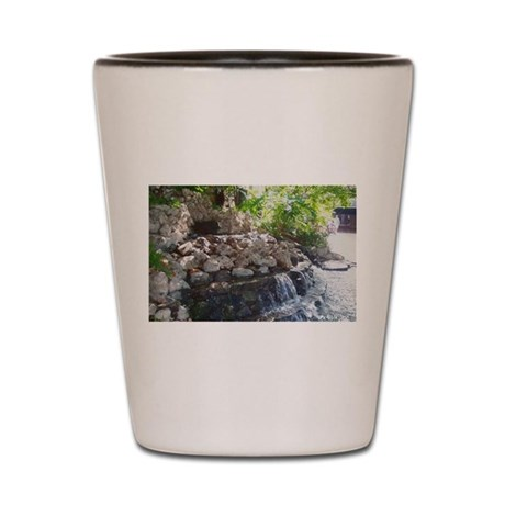Garden Waterfall Shot Glass