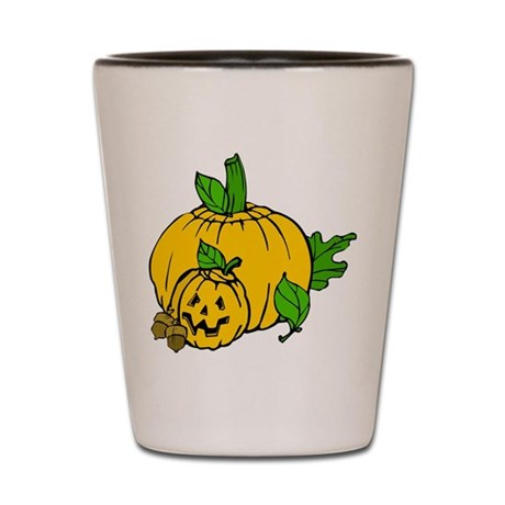 Jack 0 Lantern Shot Glass