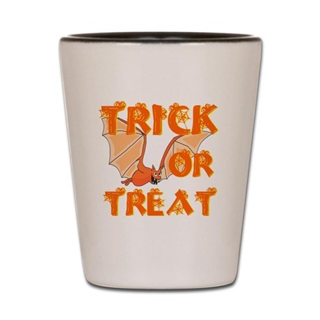 Trick or Treat Bat Shot Glass