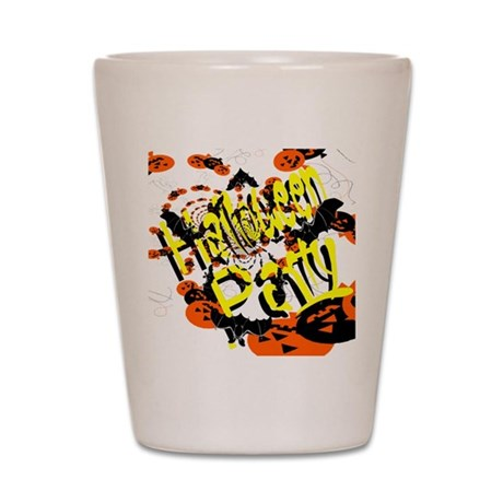 Halloween Party II Shot Glass
