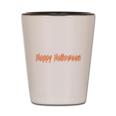 Happy Halloween Shot Glass