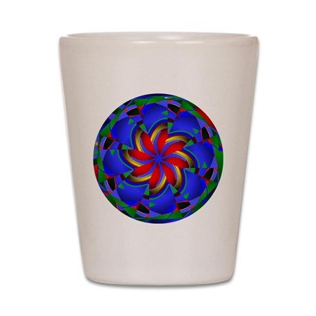 Kaleidoscope 0003 Shot Glass