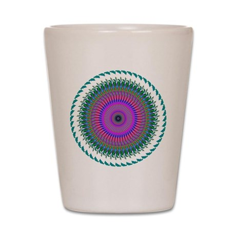 Kaleidoscope 006 Shot Glass