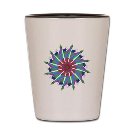 Kaleidoscope 0006 Shot Glass