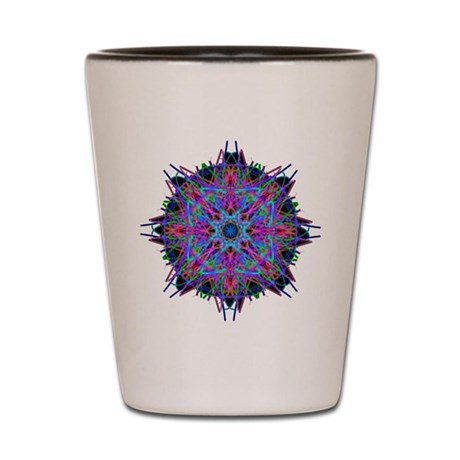 Kaleidoscope 005b2 Shot Glass
