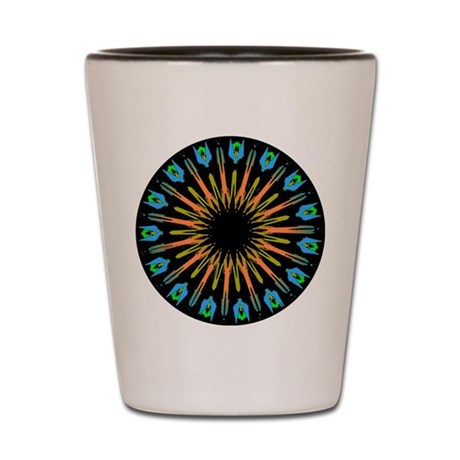 Kaleidoscope 003 Shot Glass