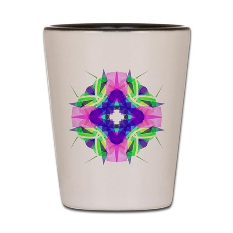 Kaleidoscope 001b Shot Glass