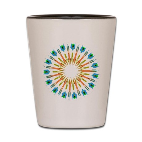 Kaleidoscope 003a1 Shot Glass