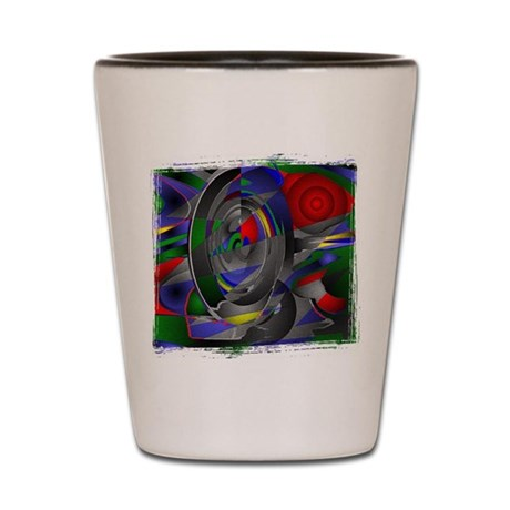Abstract 002a Shot Glass