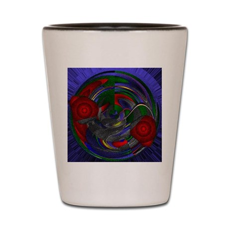 Abstract 005 Shot Glass