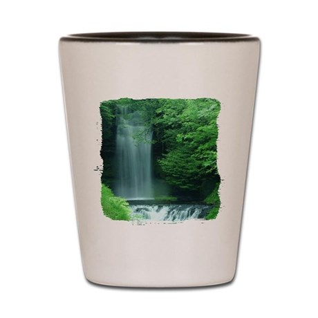 Waterfalls Shot Glass