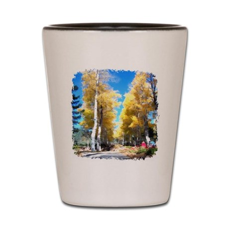 Aspen Trail Shot Glass