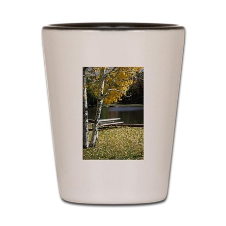 Picnic Table Shot Glass