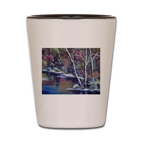 Aspen Reflections Shot Glass