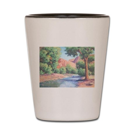 Summer Canyon Shot Glass
