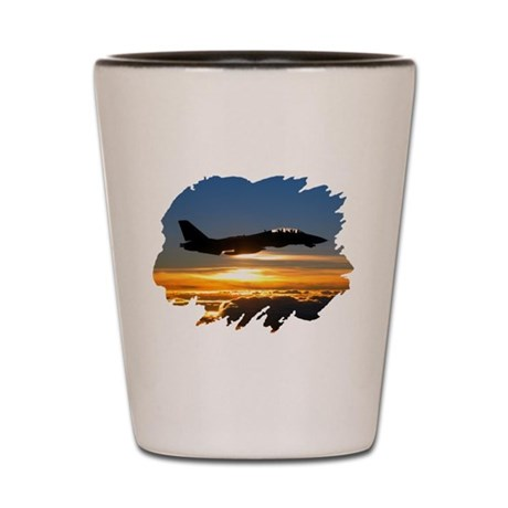 F-14 Tomcat Shot Glass