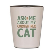 Cornish Rex Cat Shot Glass