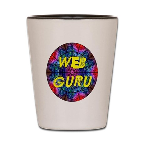 Web Guru Shot Glass