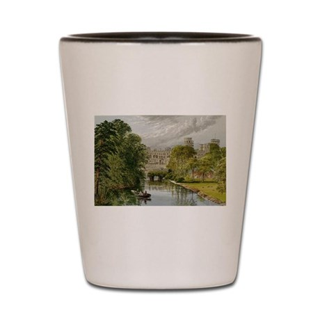 Warwick Castle Shot Glass