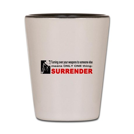 Anti Gun Control Shot Glass