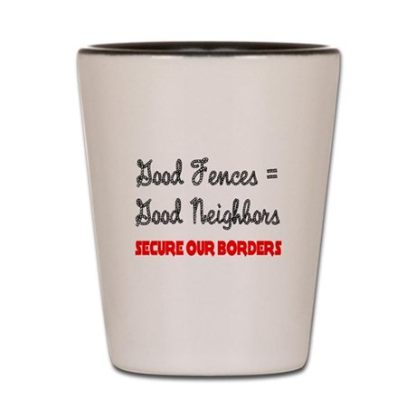 Anti Illegal Immigration Shot Glass