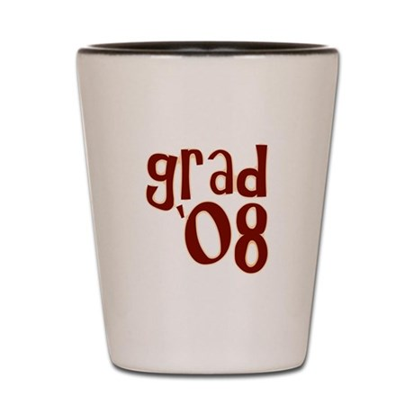 Grad 08 - Brown - Shot Glass