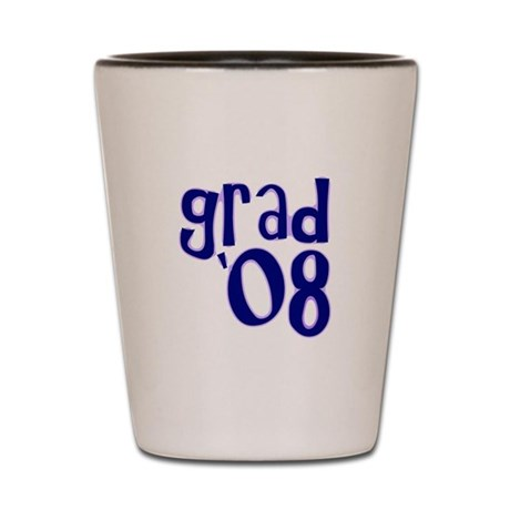 Grad 08 - Purple - Shot Glass